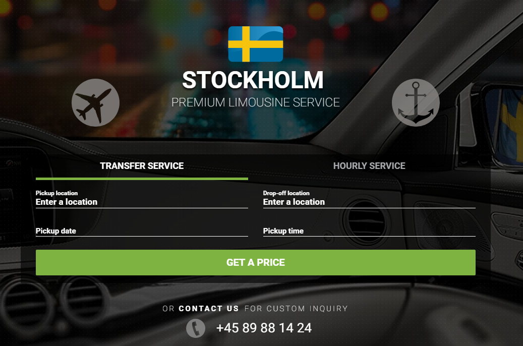 Limos4 Stockholm Chauffeured Limousine Service and Airport Transfer