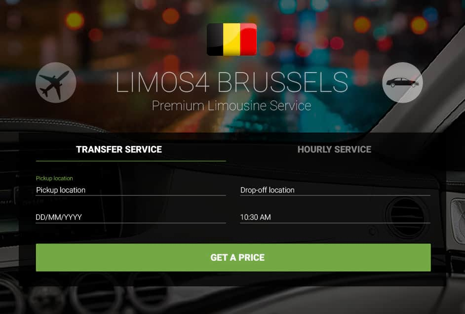 Limos4 Brussels Chauffeured Limousine Service and Airport Transfer