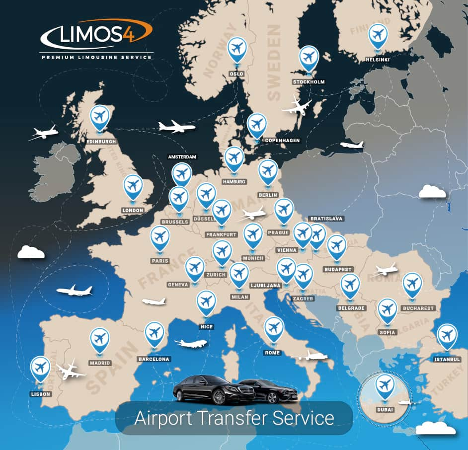 Limos4 Airport Transfer Serving