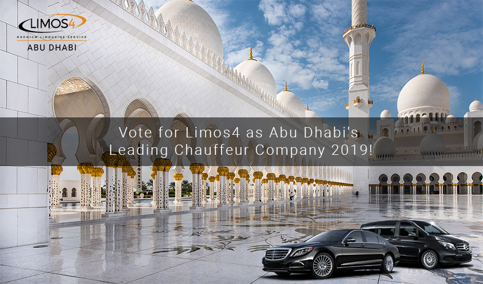 Limos4 Nominated for Abu Dhabi's Leading Chauffeur Company 2019