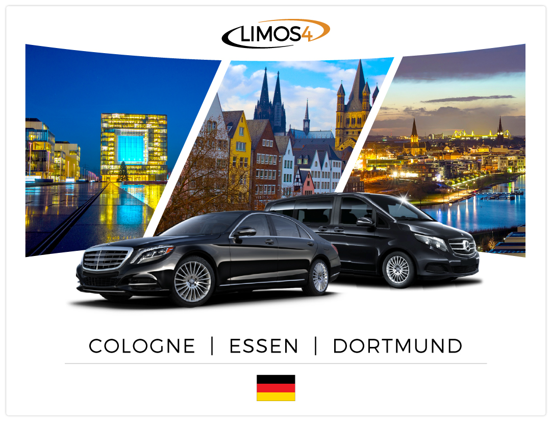 3 New German Cities Enter the Limos4 Network – Cologne, Essen and Dortmund